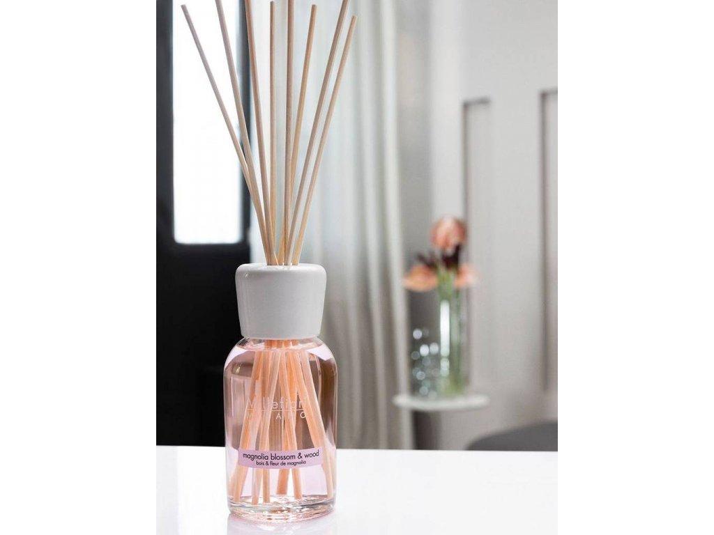 14255 1 millefiori natural aroma difuzer magnolie a drevo 250 ml