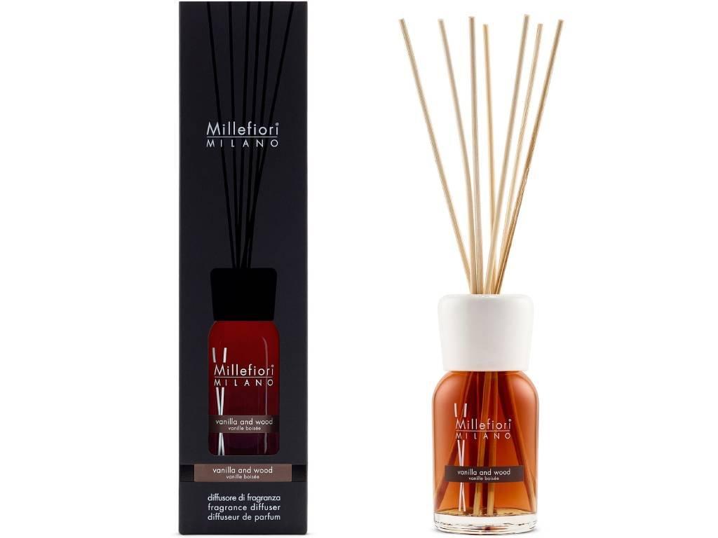14369 millefiori natural aroma difuzer vanilka a drevo 100 ml