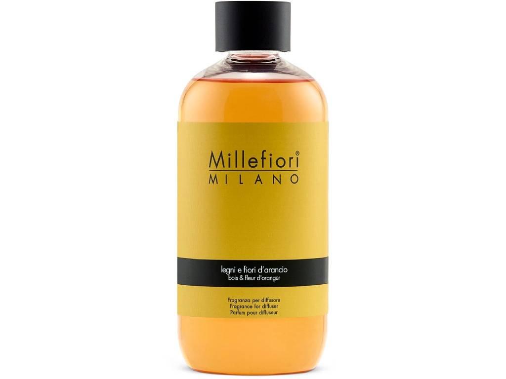 14444 millefiori natural napln do difuzeru drevo a pomerancove kvety 250 ml