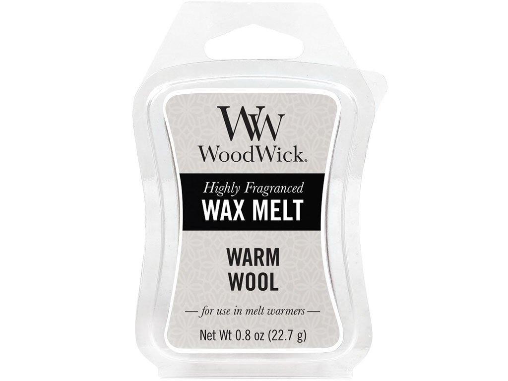 woodwick warm wool vosk