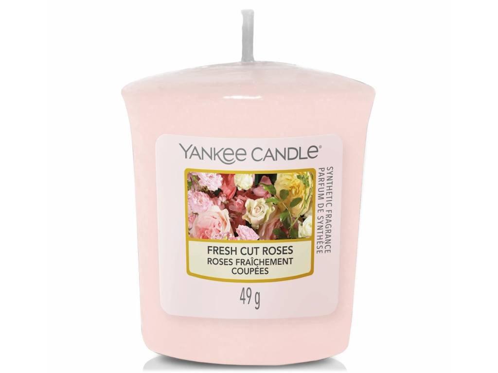 15113 yankee candle votivni svicka fresh cut roses