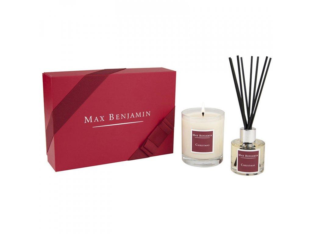 16445 max benjamin vanocni darkova sada aroma difuzeru a svicky christmas