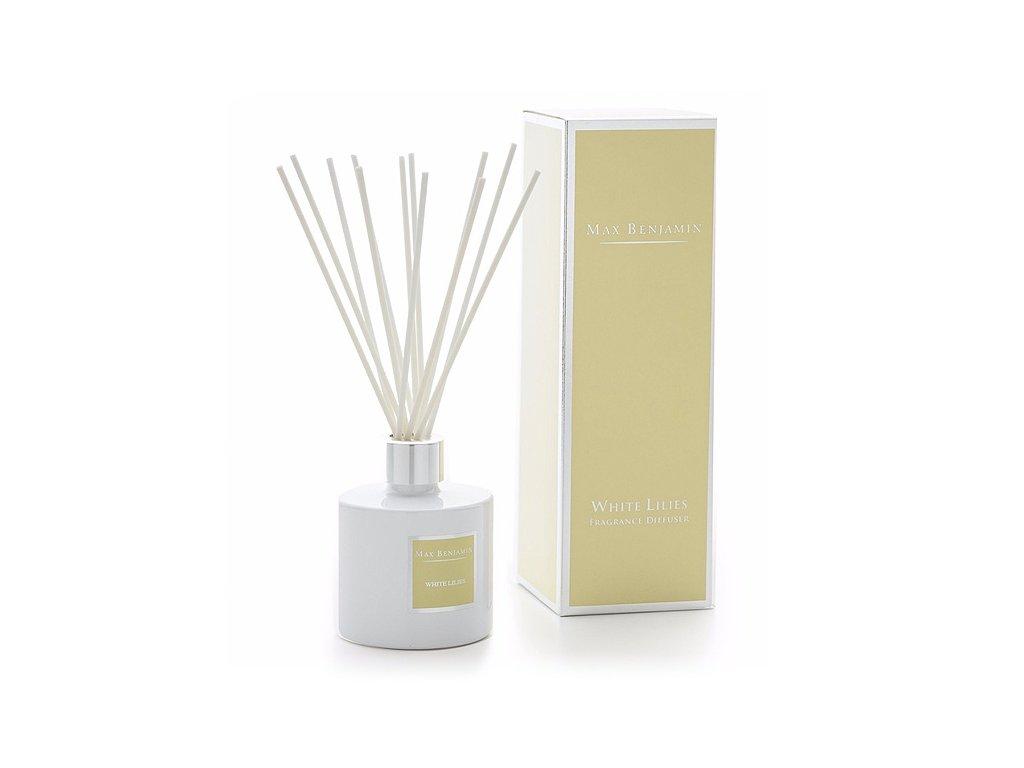 16490 1 max benjamin classic aroma difuzer white lilies 150 ml