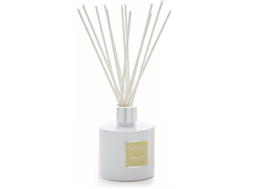 16490 max benjamin classic aroma difuzer white lilies 150 ml