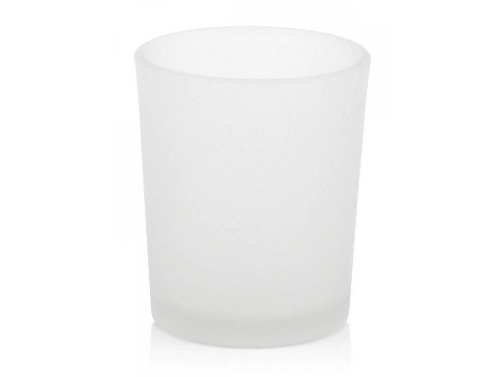 16874 svicen na votivni svicku mlecne sklo