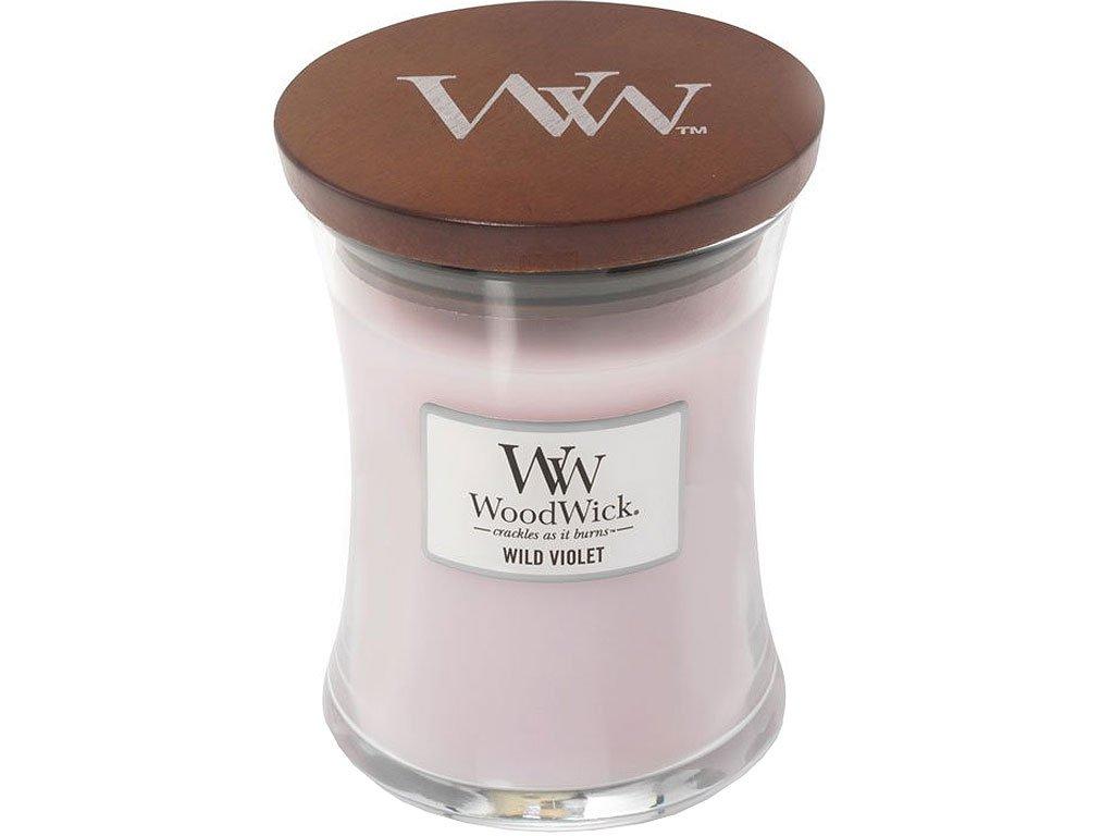 woodwick wild violet stredni 1