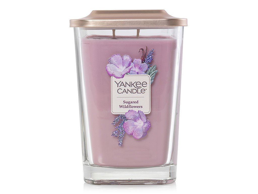 yankee candle elevation sugared wildflowers velka 1
