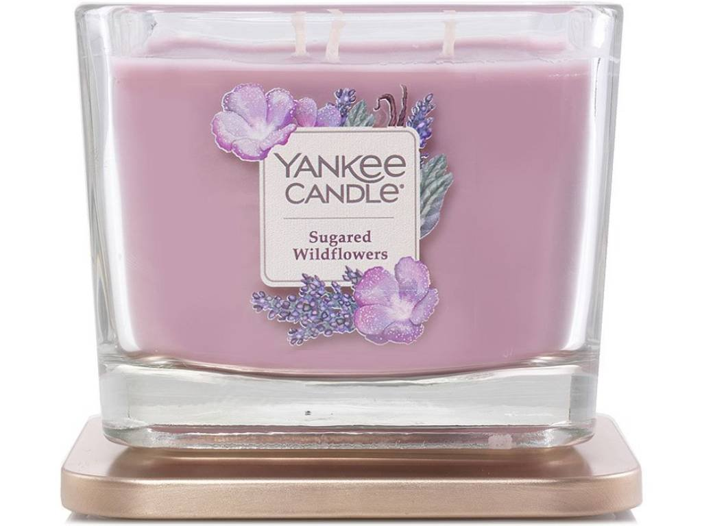 yankee candle elevation sugared wildflowers stredni 1