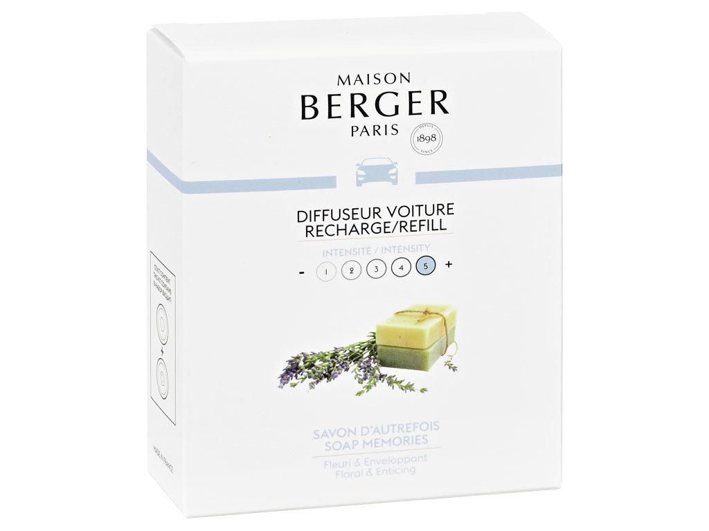 maison berger paris napln vune do auta soap memories