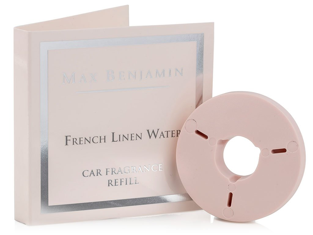 max benjamin napln vune do auta french linen water