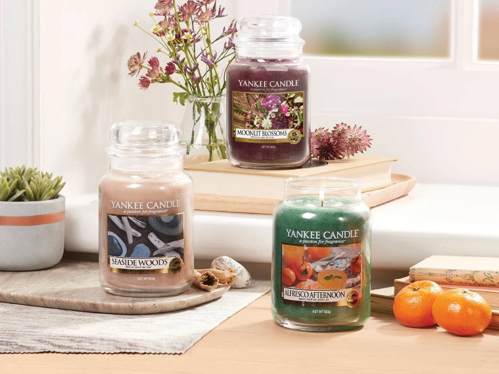 yankee candle alfresco afternoon stredni