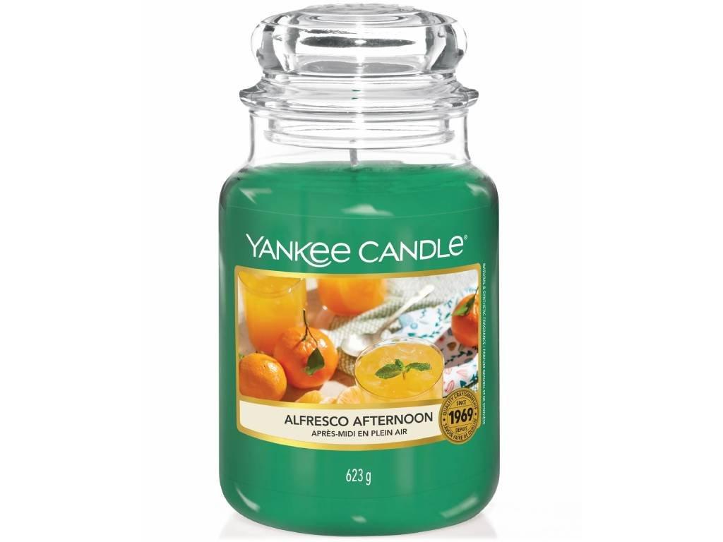 yankee candle alfresco afternoon velka