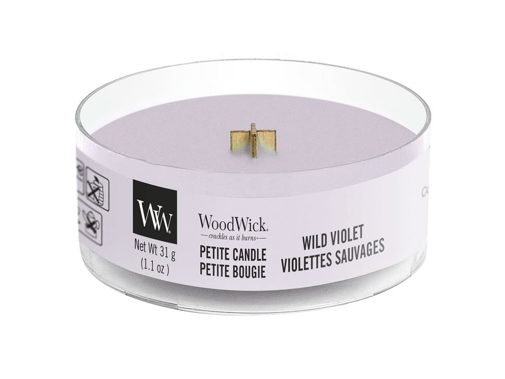 woodwick wild violet petitka