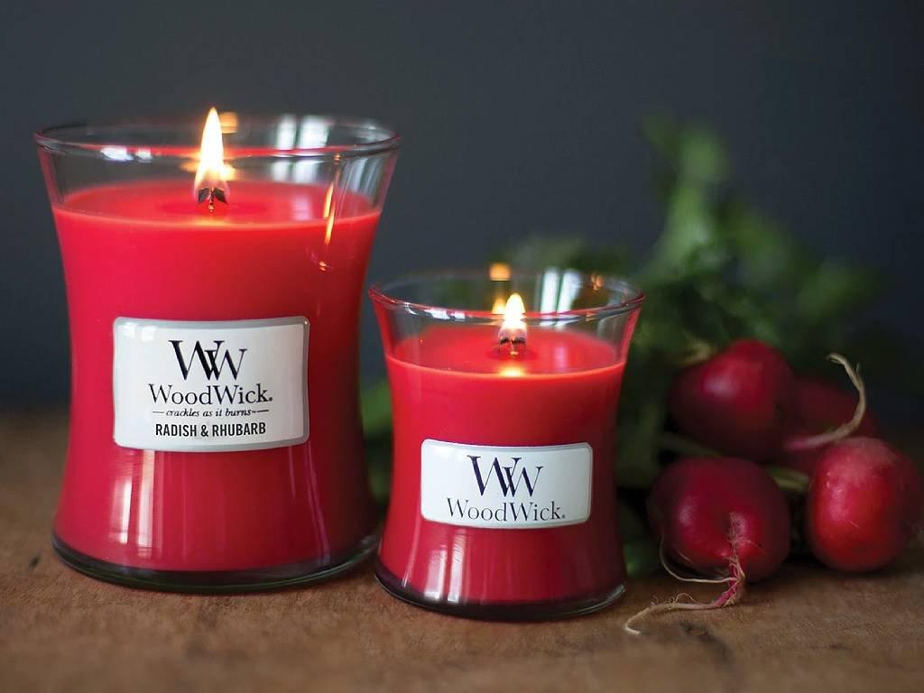 woodwick radish rhubarb velka