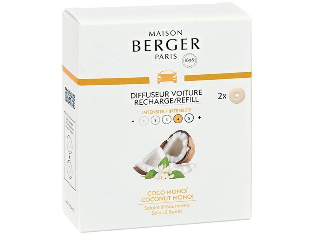 maison berger paris napln vune do auta coconut monoi