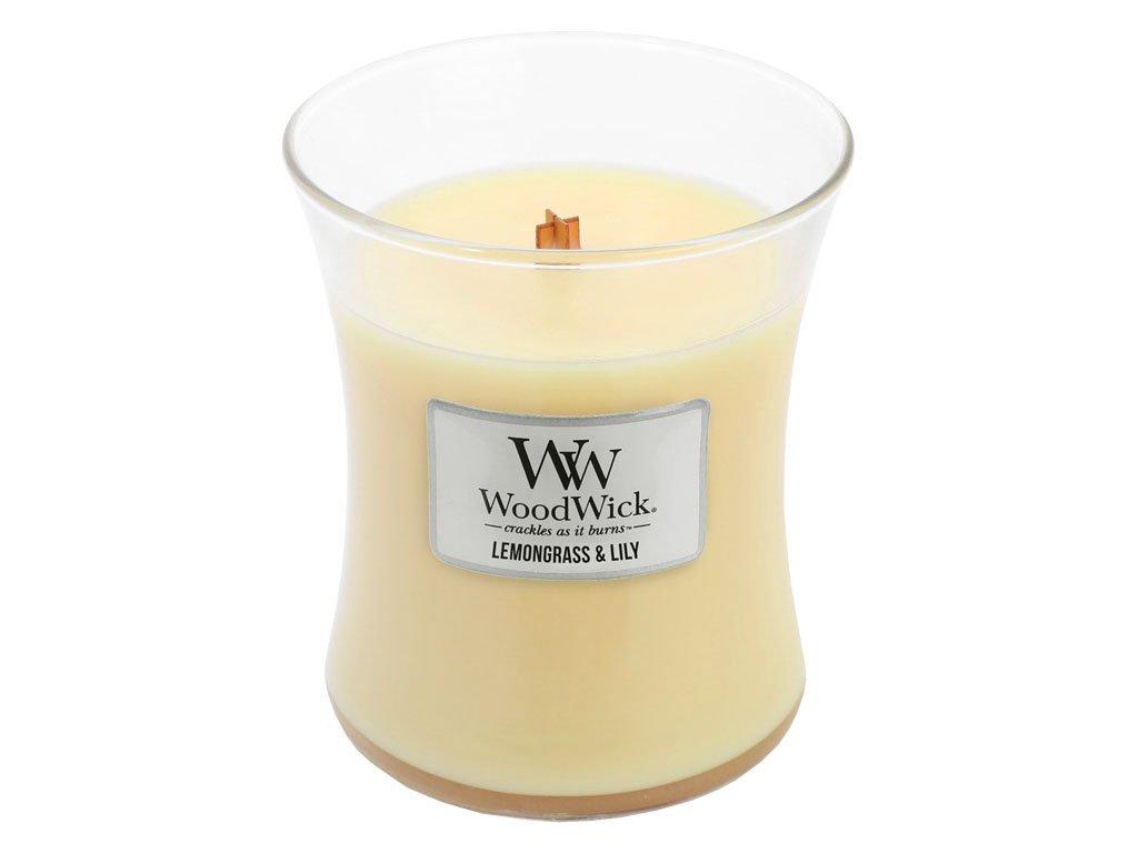 woodwick lemongrass lilly stredni 1