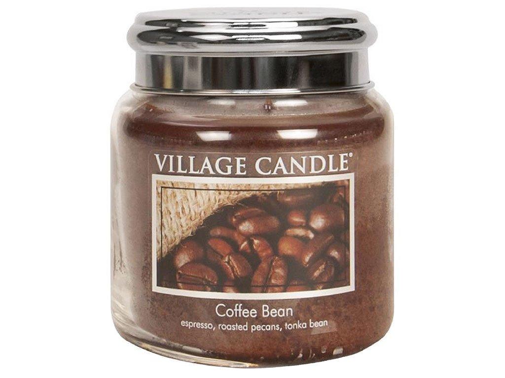 village candle svicka coffee bean stredni