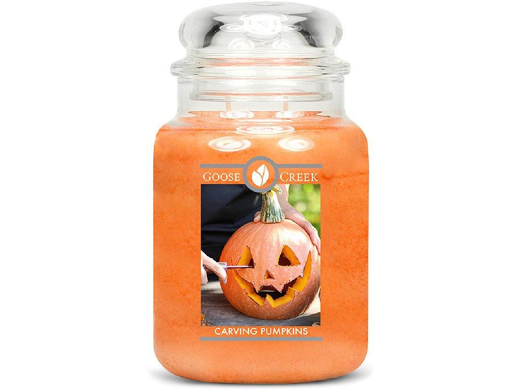 goose creek svicka vyrezavana dyne carving pumpkins