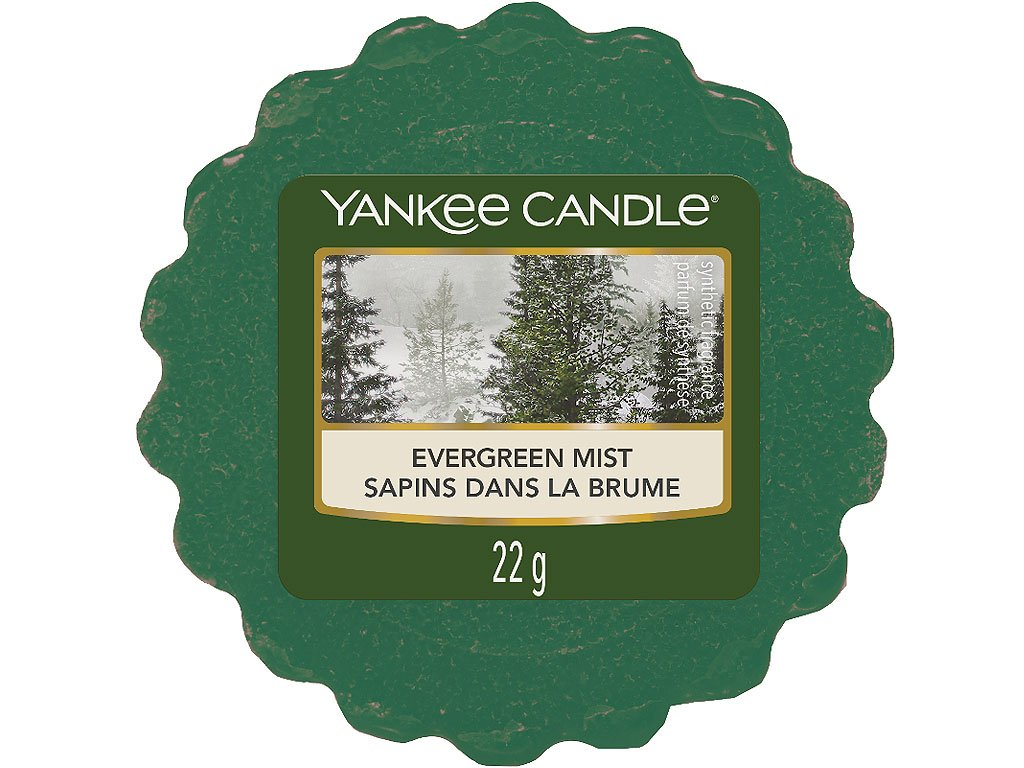 yankee candle evergreen mist vosk
