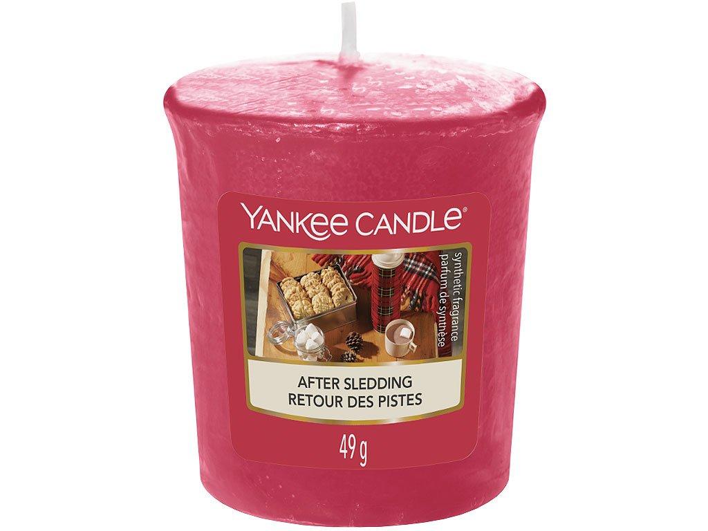 yankee candle after sledding votivni