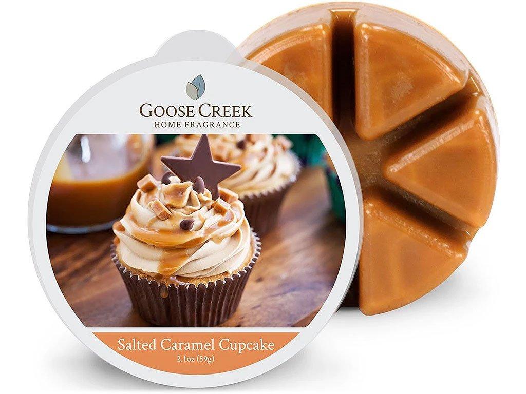 goose creek vosk salted caramel cupcake
