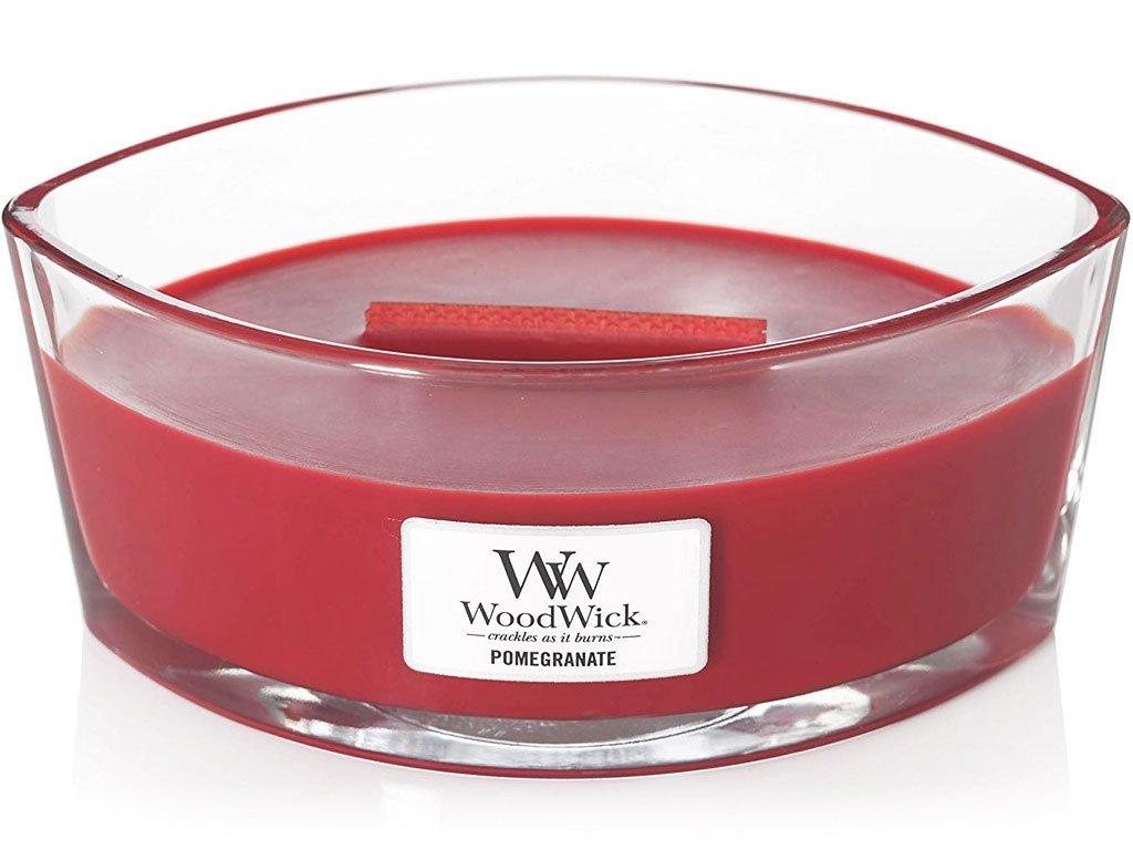 woodwick pomegranate svicka lodicka