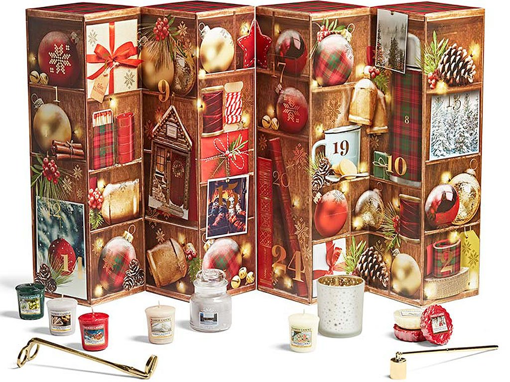 yankee candle adventni kalendar vez tower otevreny
