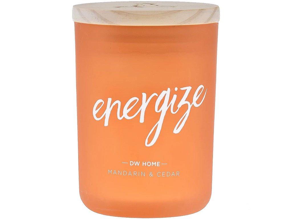 dw home svicka energize mandarin cedar