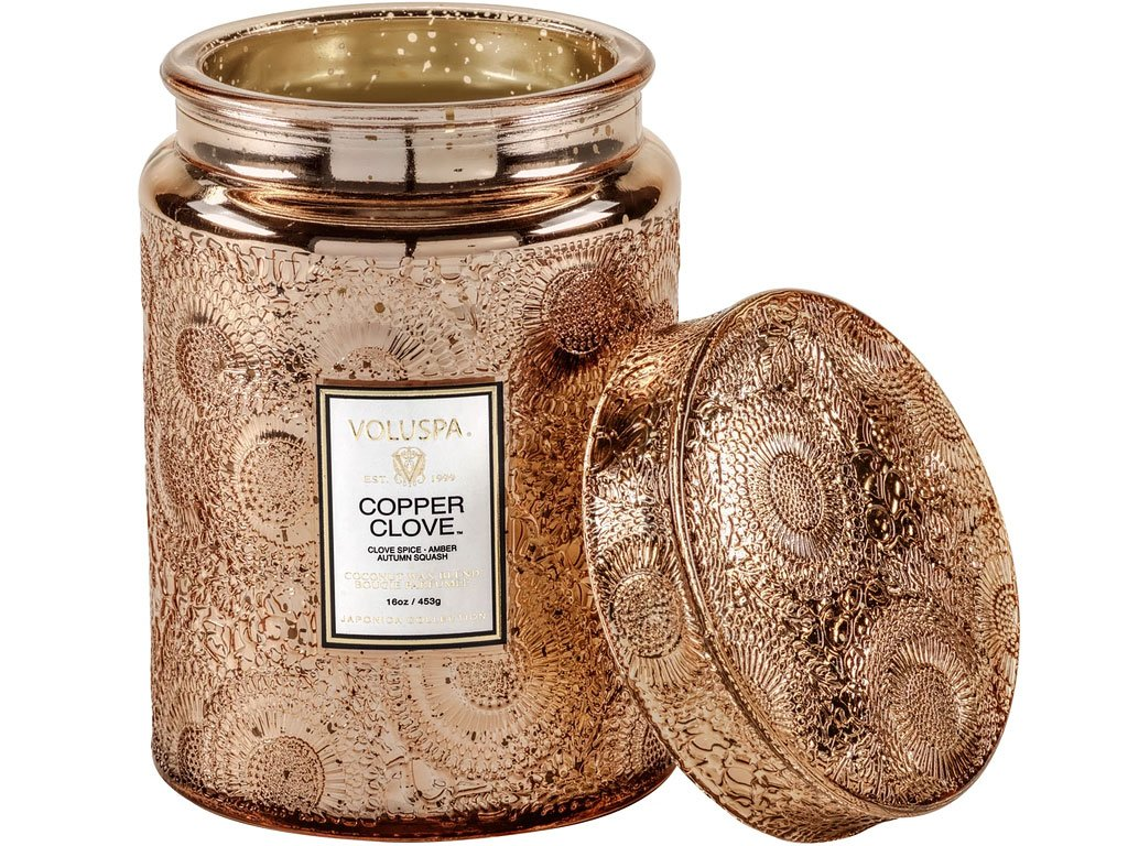 voluspa svicka copper clove 2