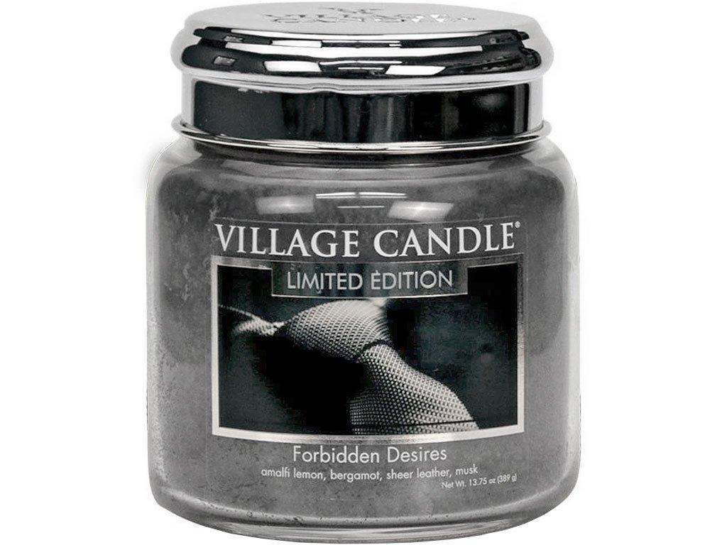 village candle svicka forbidden desires stredni