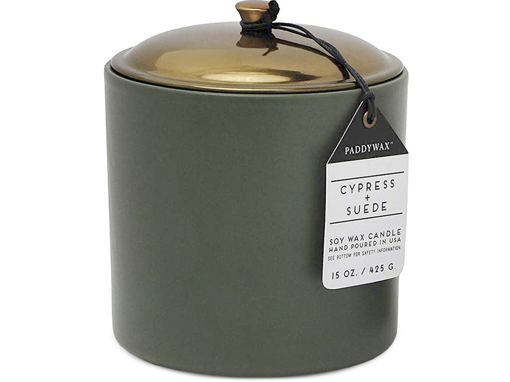paddywax hygge svicka cypress suede