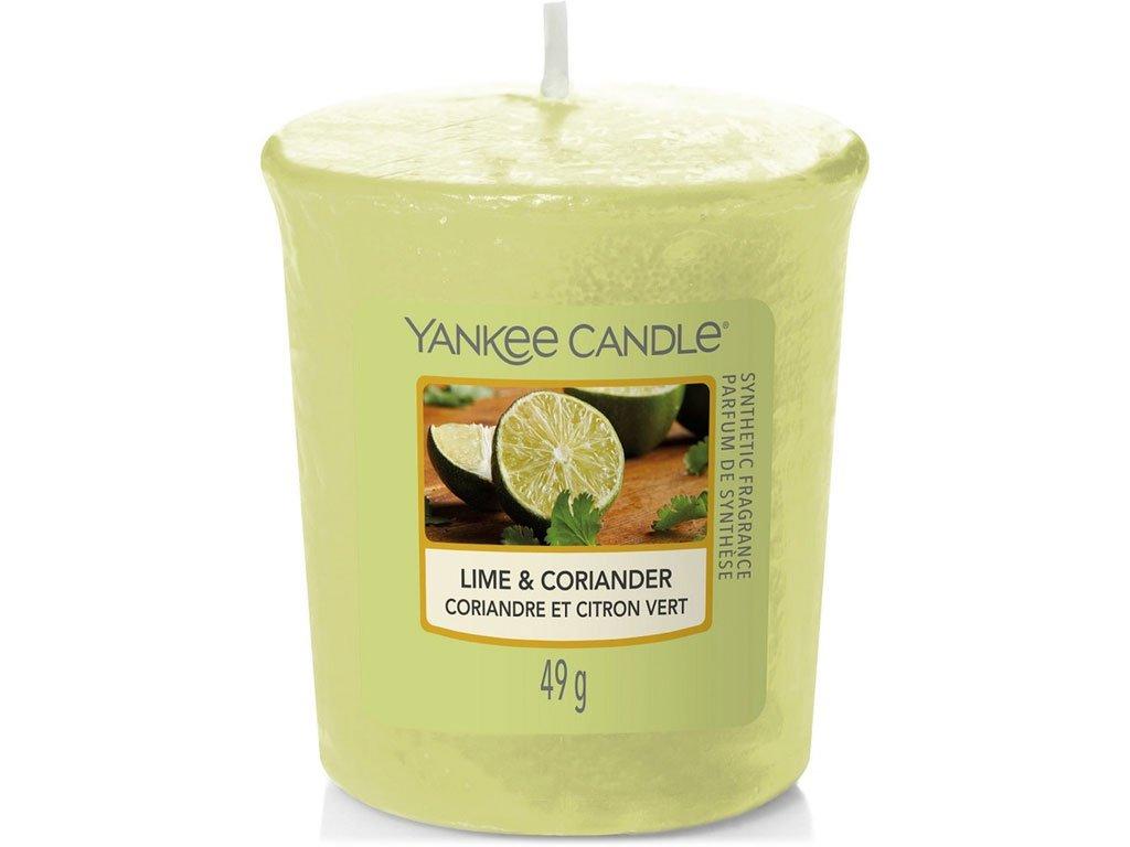 yankee candle lime coriander votivni