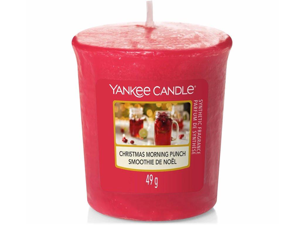 yankee candle christmas morning punch votivni svicka