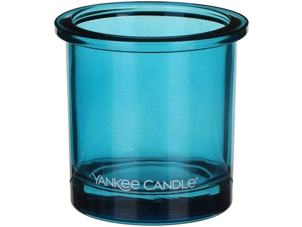 yankee candle pop tea light svicen modry