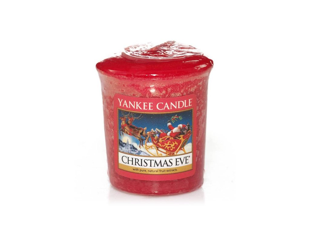 6080 yankee candle votivni svicka christmas eve
