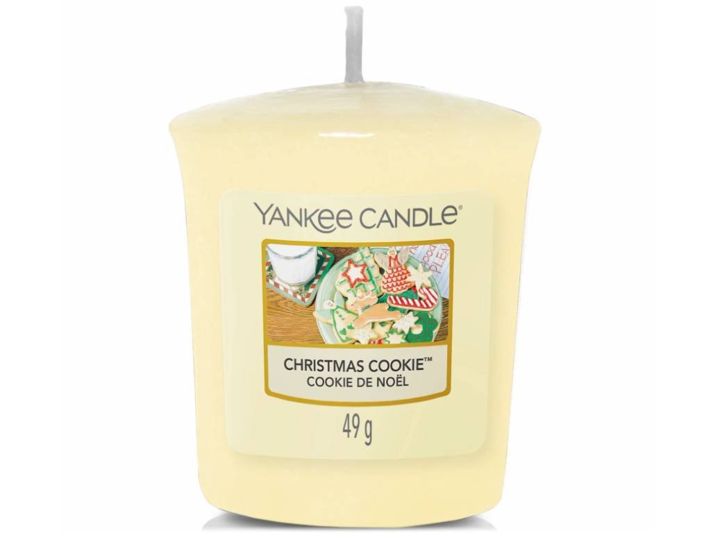 yankee candle christmas cookie votivni