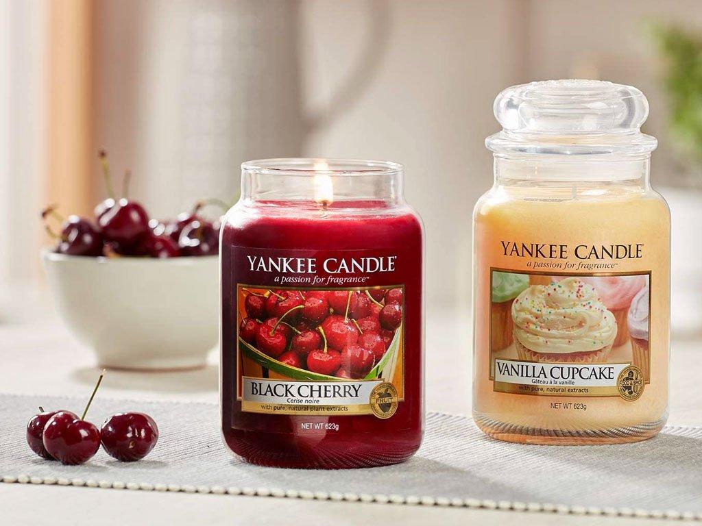 6197 yankee candle vonna svicka vanilla cupcake stredni