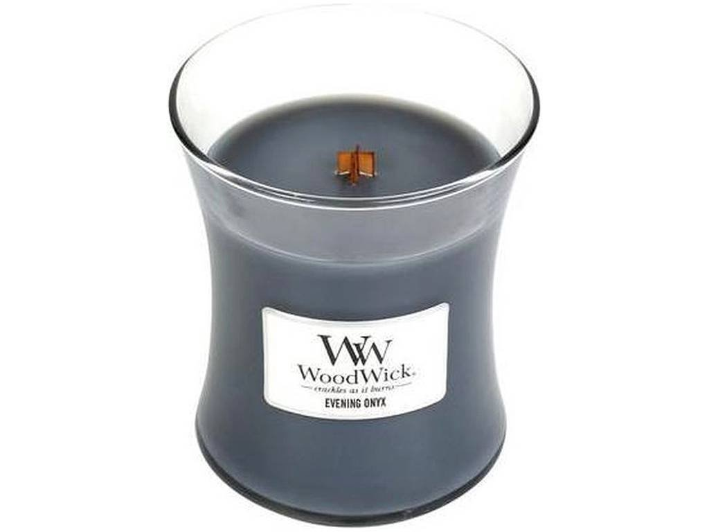 woodwick evening onyx stredni