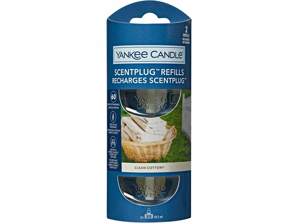 yankee candle napln clean cotton vune do zasuvky