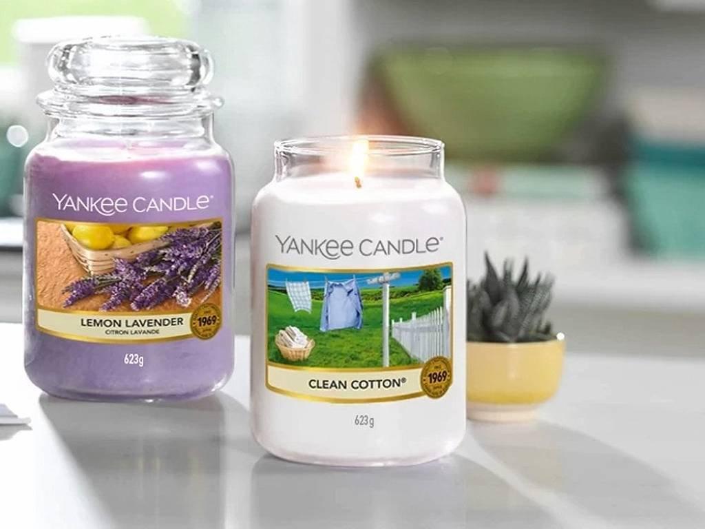 6347 yankee candle vonna svicka clean cotton velka