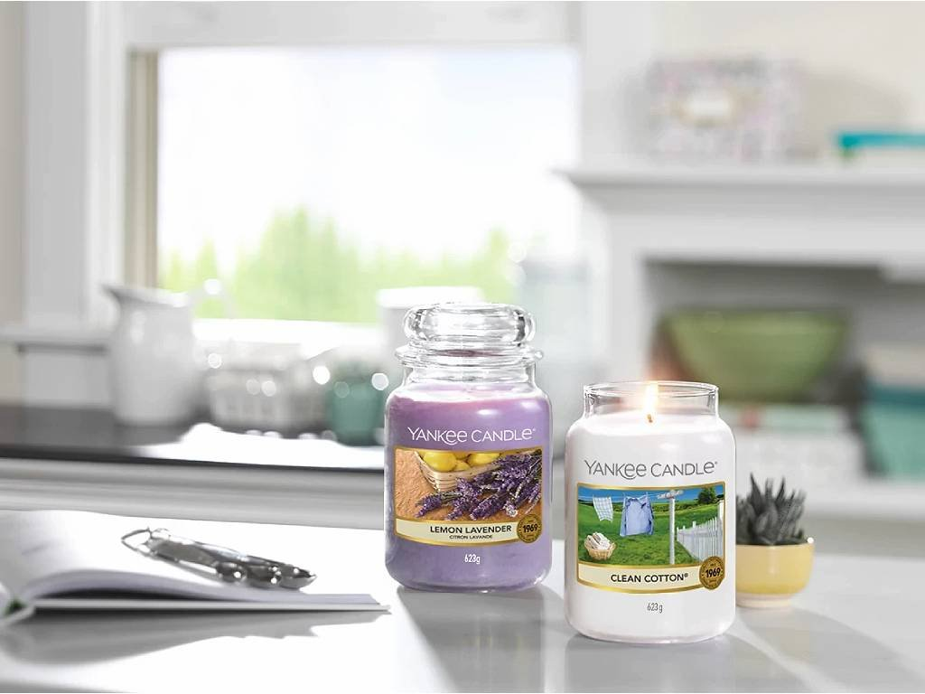 6353 yankee candle vonna svicka lemon lavender velka