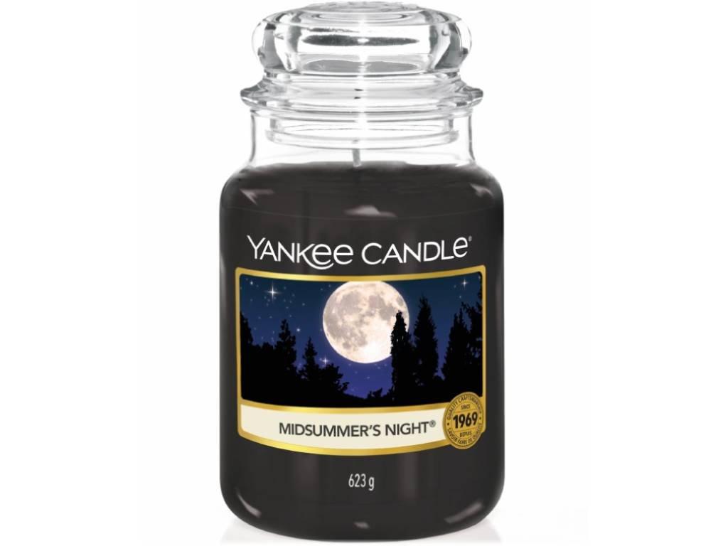 yabkee candle midsummers night velka