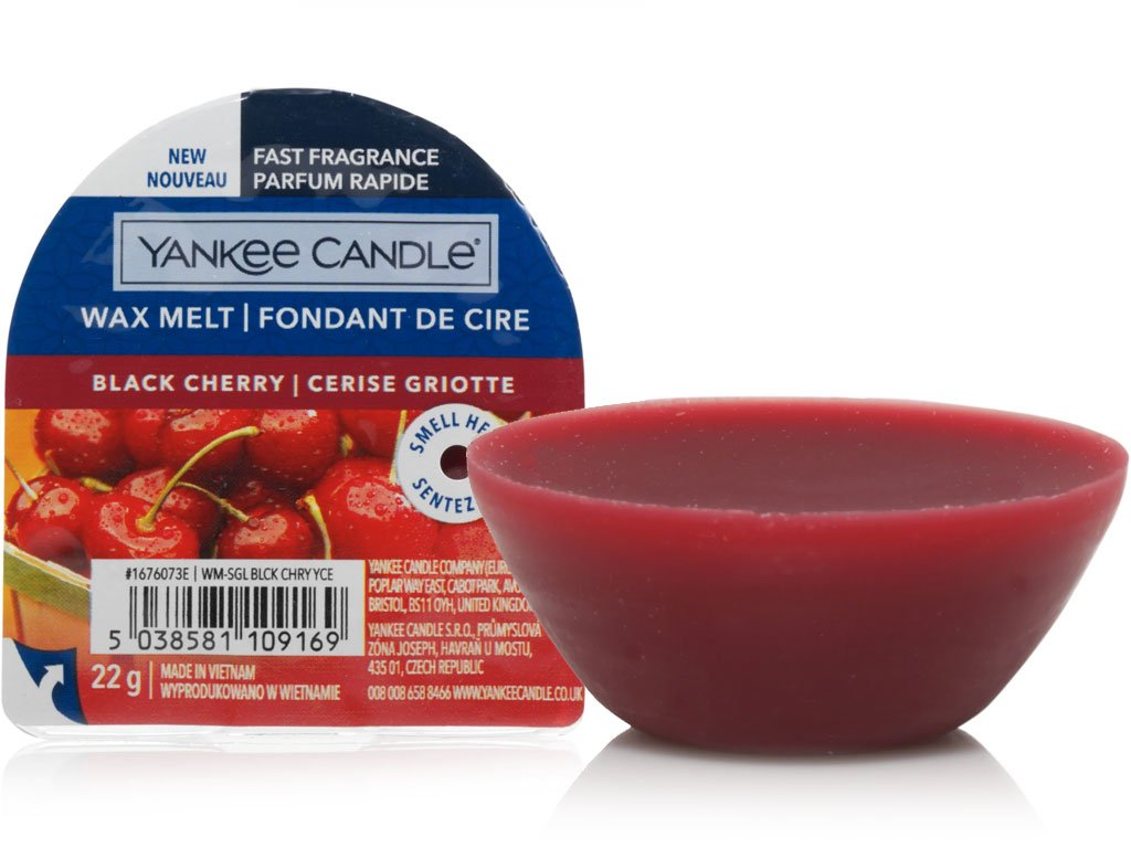 yankee candle vosk do aromalampy black cherry