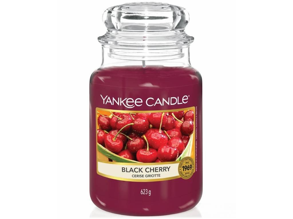 yankee candle black cherry velka