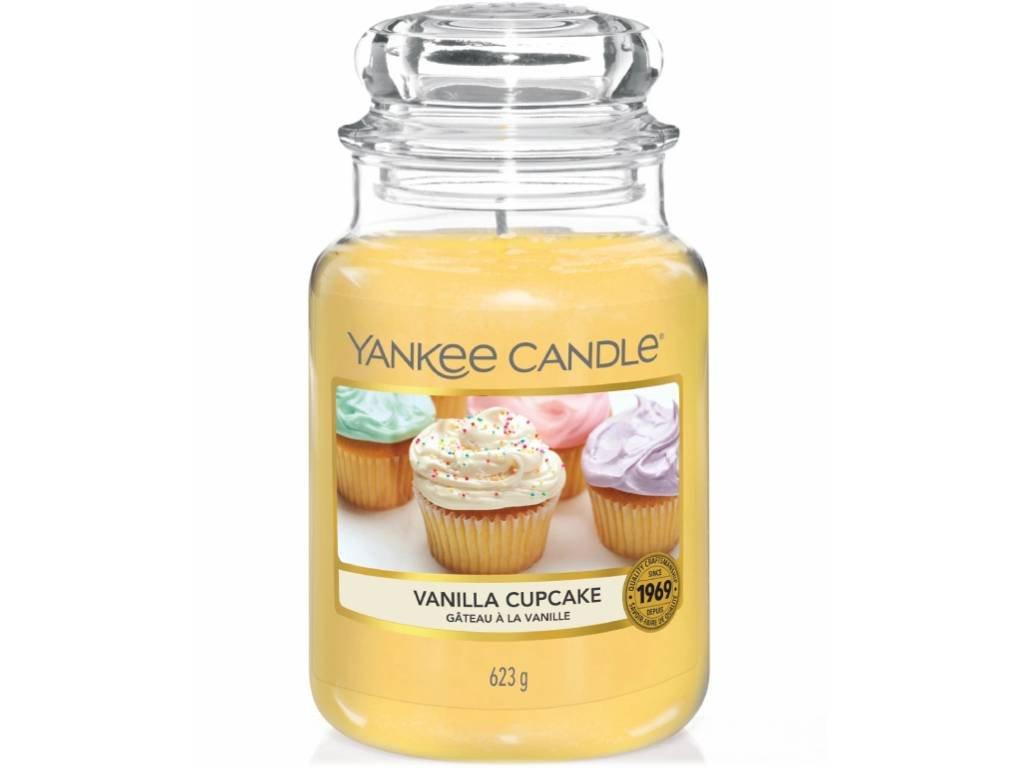 yankee candle vanilla cupcake velka
