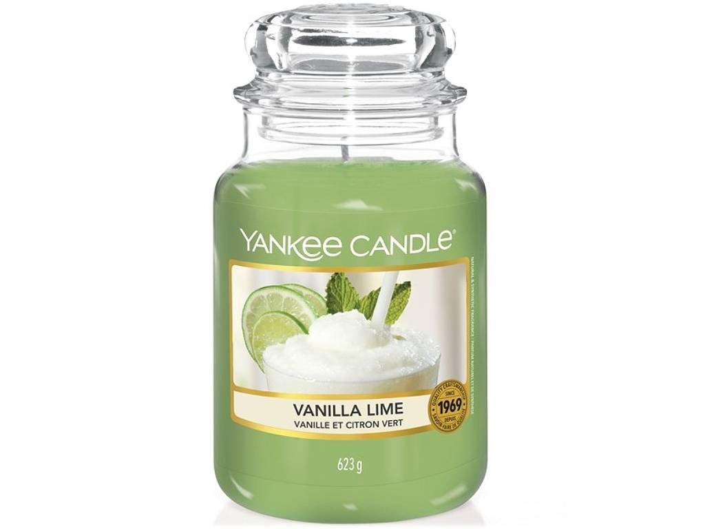 6383 yankee candle vonna svicka vanilla lime velka