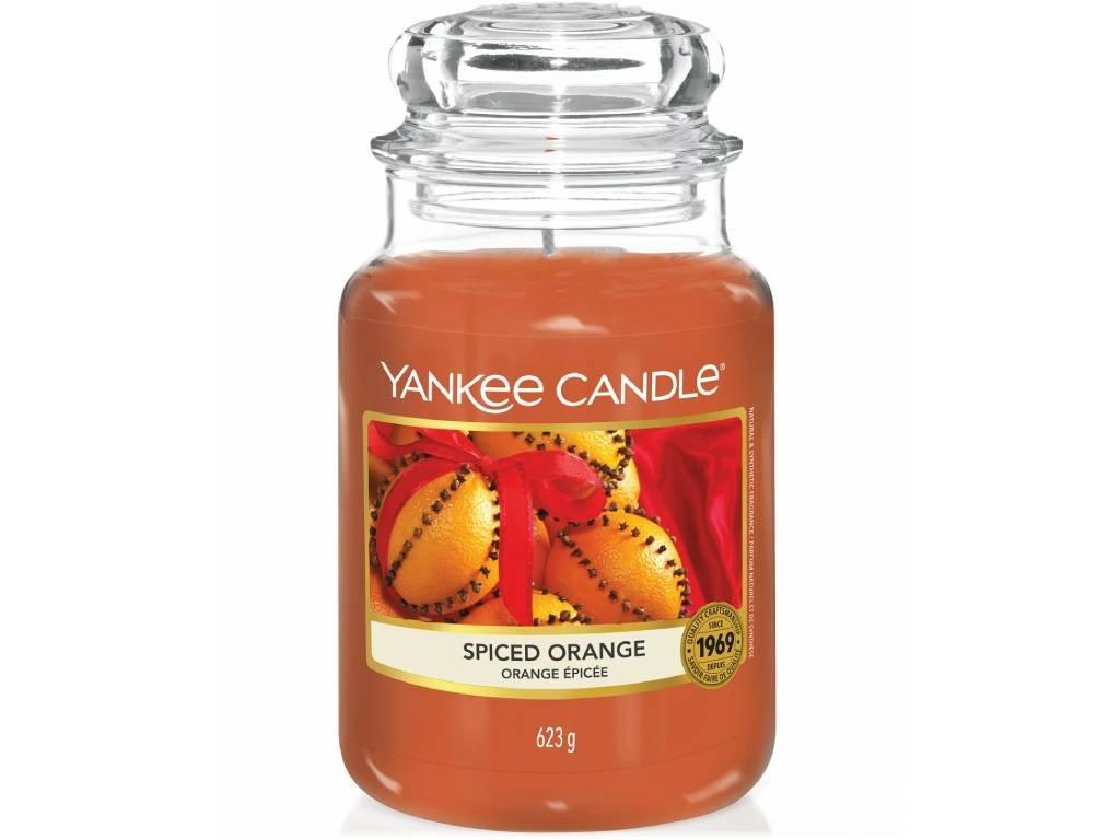yankee candle svicka spiced orange velka