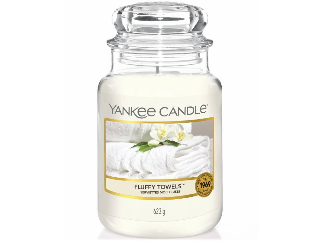 yankee candle fluffy towels velka