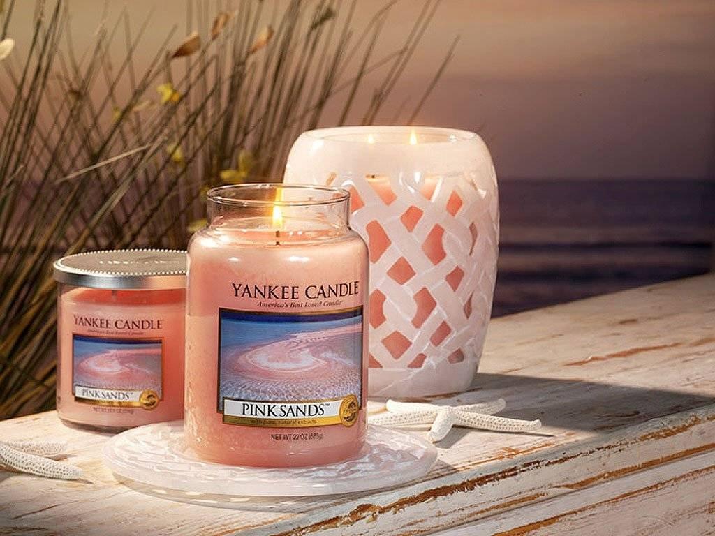6530 yankee candle votivni svicka pink sands