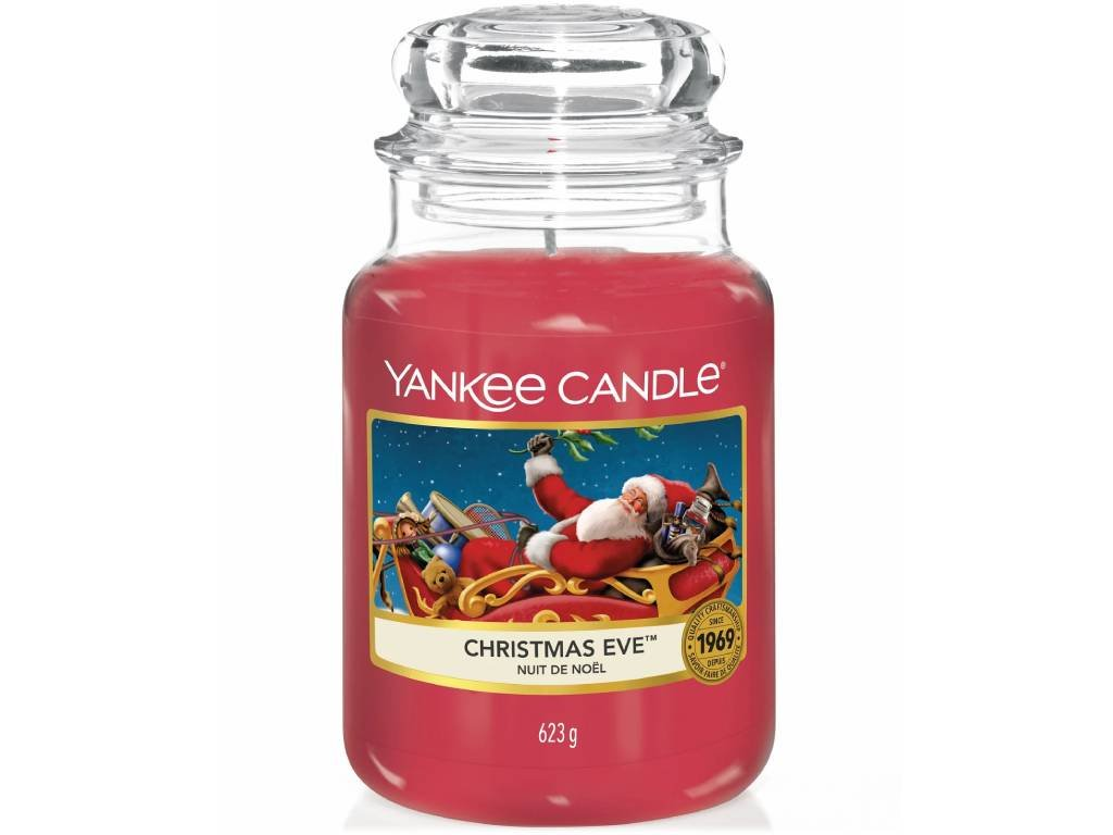 yankee candle christmas eve velka